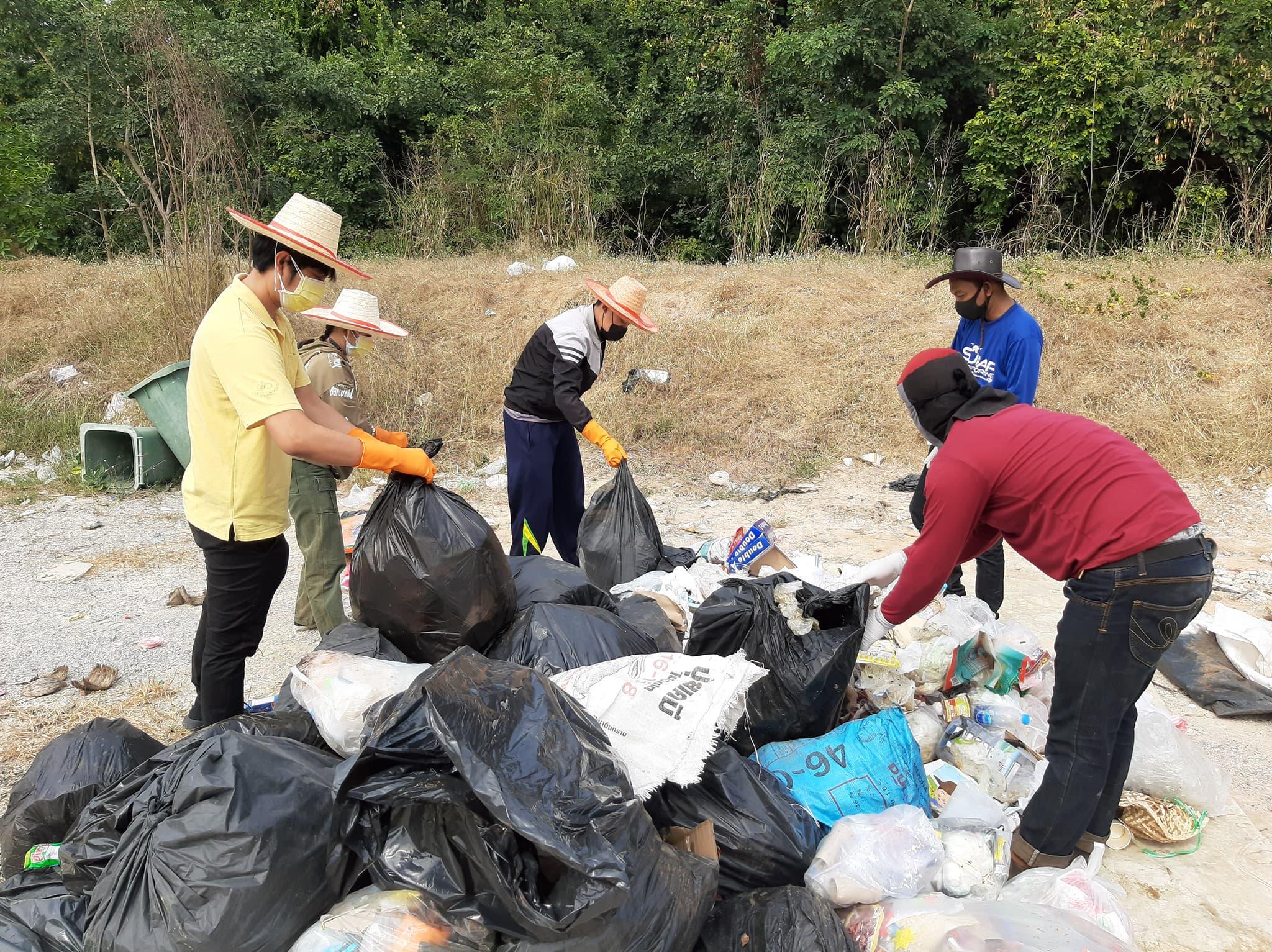 การส่งเสริมการมีส่วนร่วมของชุมชนในการคัดแยกขยะมูลฝอยที่ต้นทางของเทศบาลตำบลบางประมุง อำเภอโกรกพระ จังหวัดนครสวรรค์ (การคัดแยกขยะ ครั้งที่1)