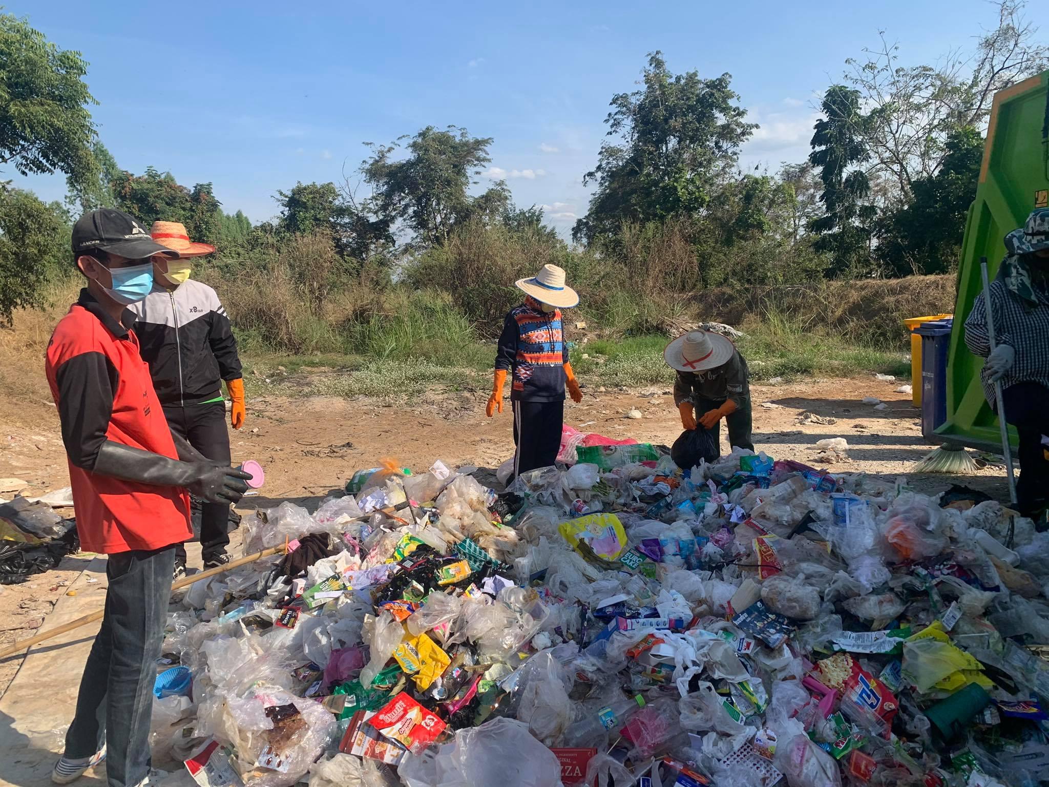การส่งเสริมการมีส่วนร่วมของชุมชนในการคัดแยกขยะมูลฝอยที่ต้นทางของเทศบาลตำบลบางประมุง อำเภอโกรกพระ จังหวัดนครสวรรค์ (การคัดแยกขยะ ครั้งที่2)